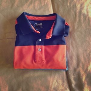 Izod multi colored luxury performance polo